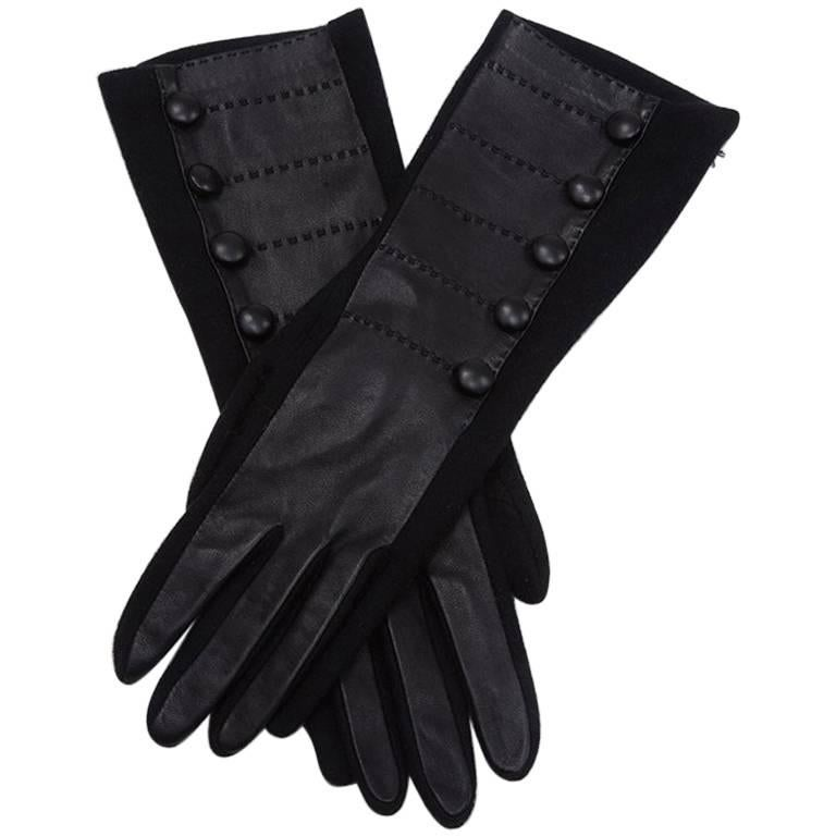 Agnelle Wool & Leather & Gloves