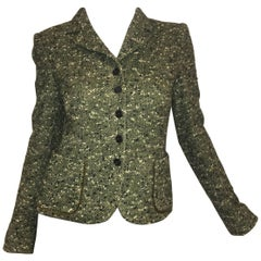 Luciano Barbera Tweed Blazer