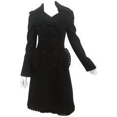 Dolce & Gabbana Crochet Trim Coat