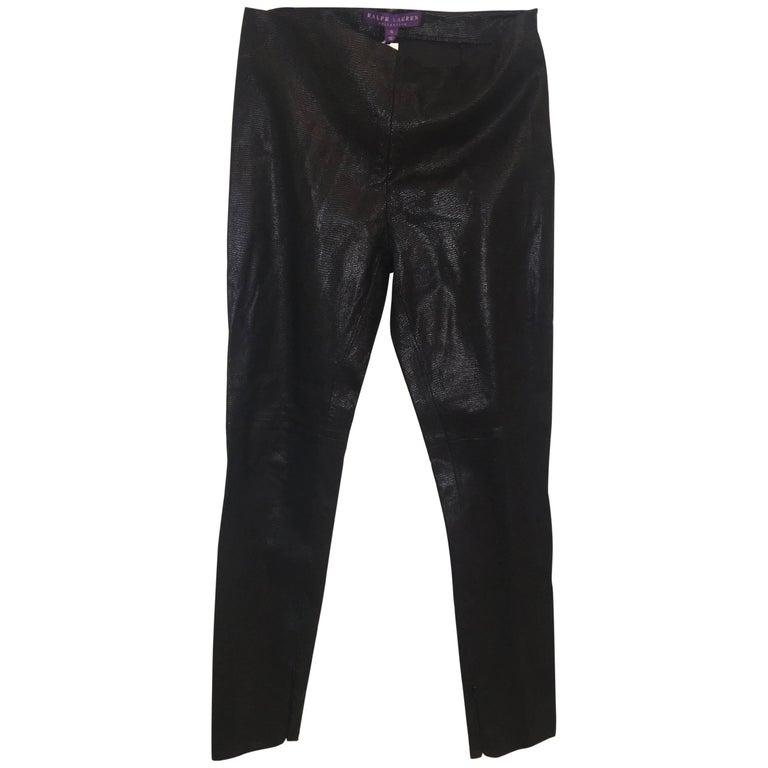 Ralph Lauren Leather Pants