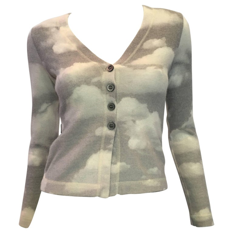 Moschino Wool Cloud Sweater, 1990s  For Sale