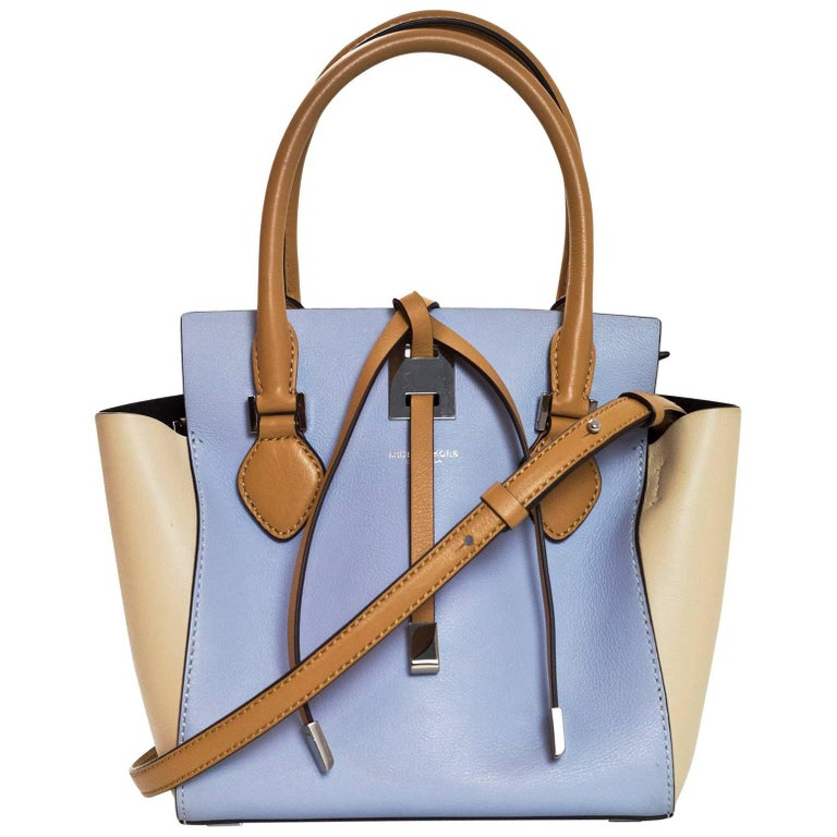 Michael Kors Collection Tri-Color Mini Miranda Tote Bag