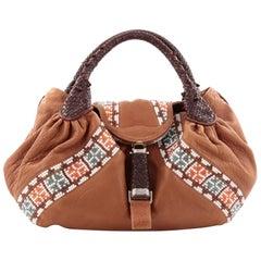 Fendi Spy Bag Beaded Leather