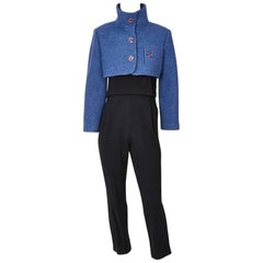 Geoffrey Beene Three Piece Jumpsuit Ensemble