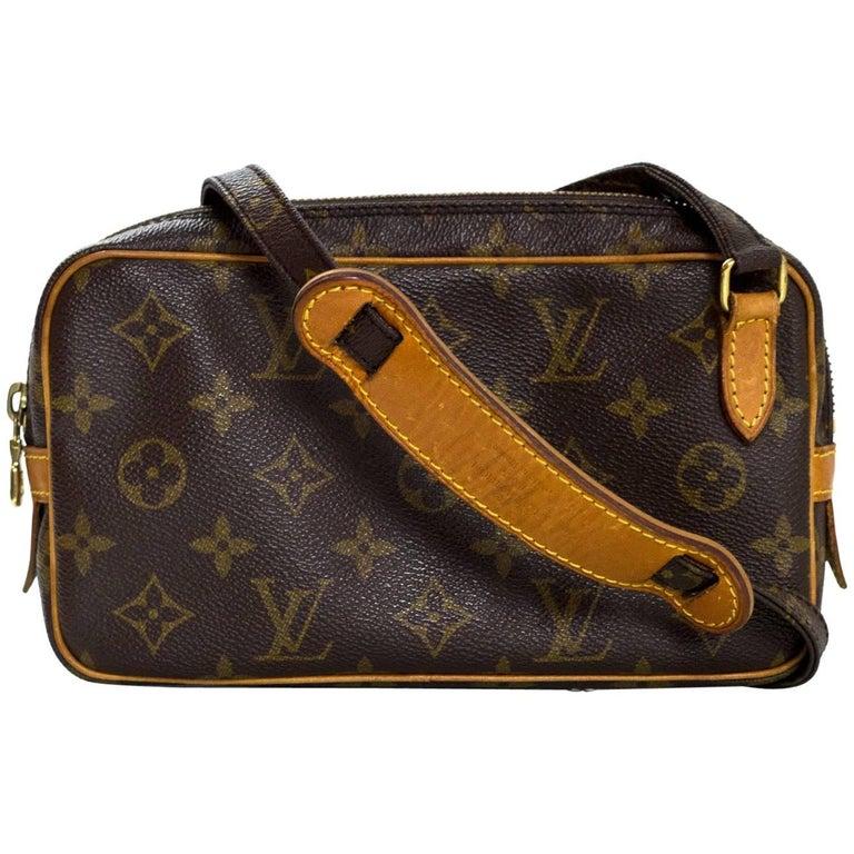 2bdba7503ca2 Louis Vuitton Vintage Monogram Marly Bandouliere Crossbody Bag at 1stdibs
