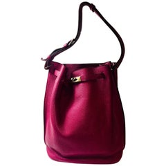 Hermes Plum So Kelly Bag
