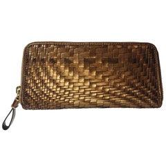 Cole Haan Bronze Leather Wallet