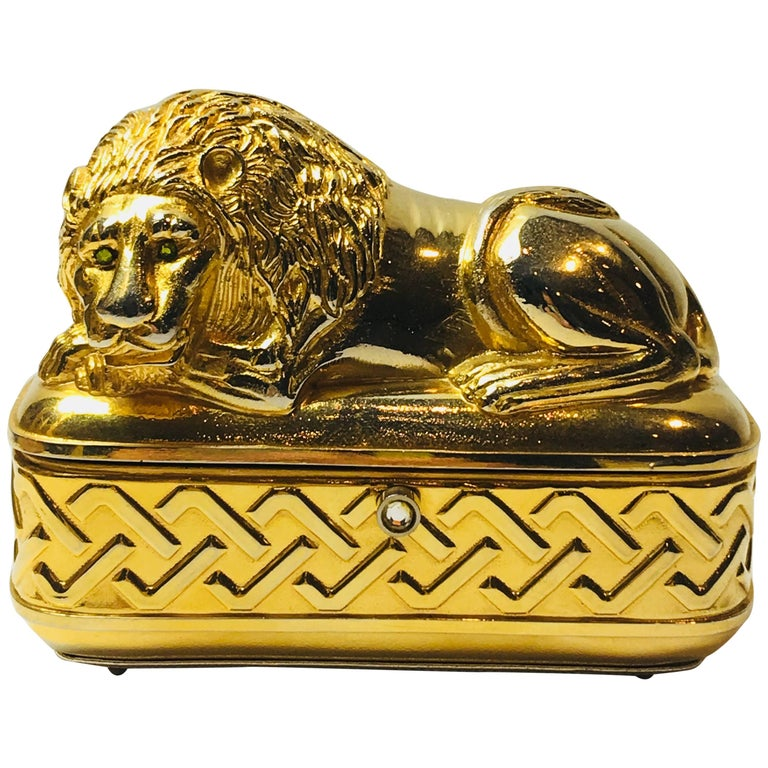 Judith Leiber Lion Clutch
