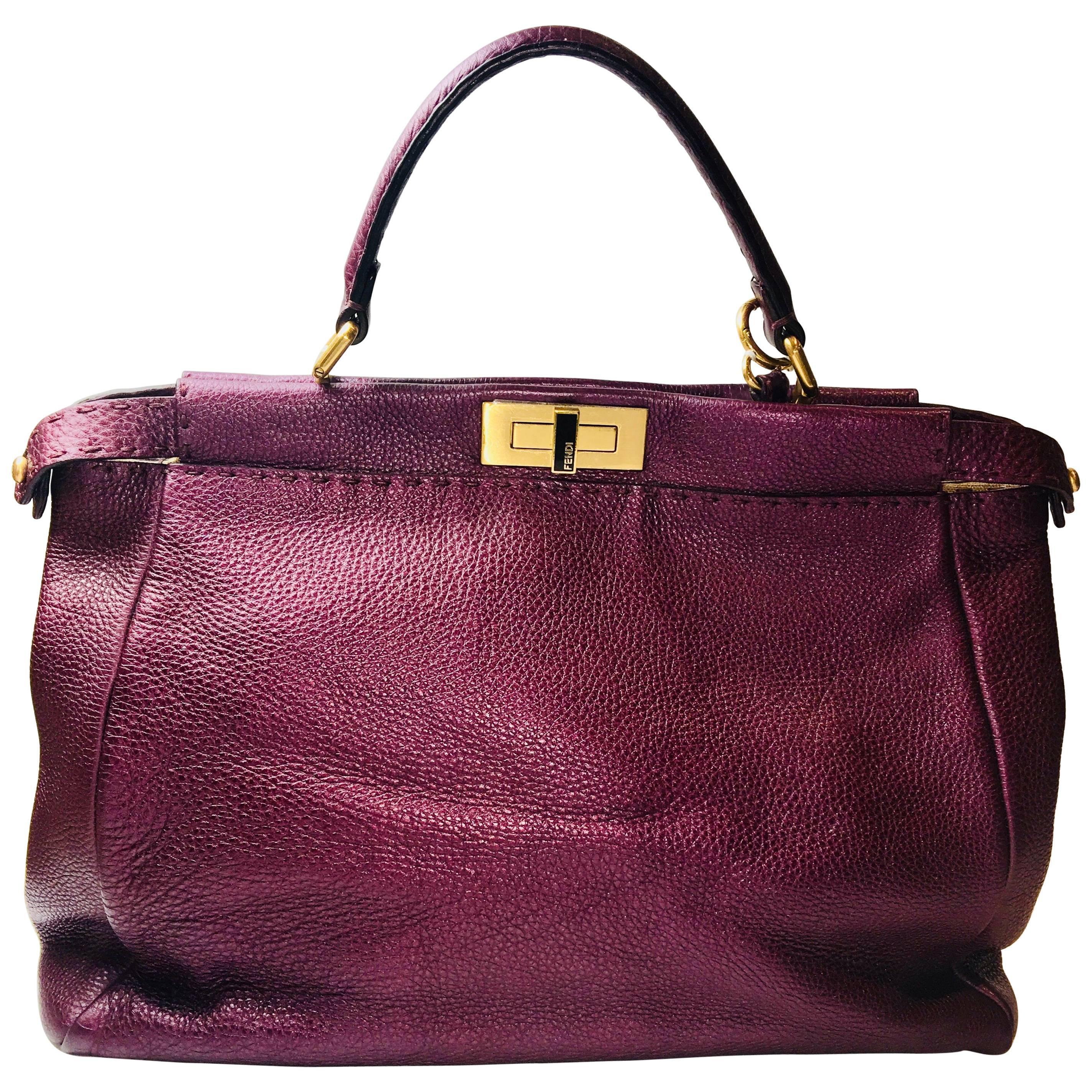 9b51ba0d13 Fendi Selleria Peekaboo Bag at 1stdibs