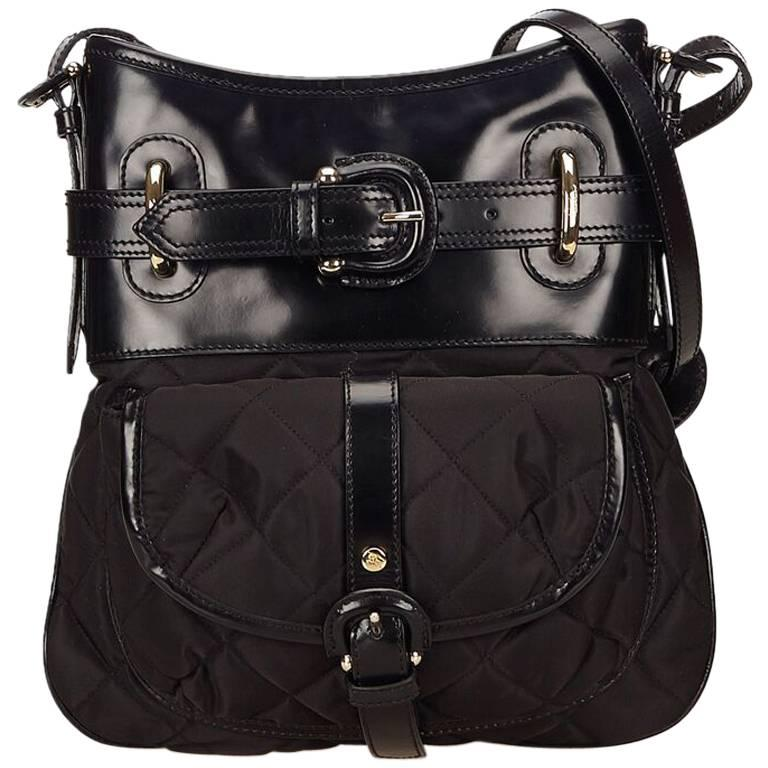 1stdibs Black & White Burberry Prorsum Mini Bee Bowler Satchel Ou5cb2mWe5