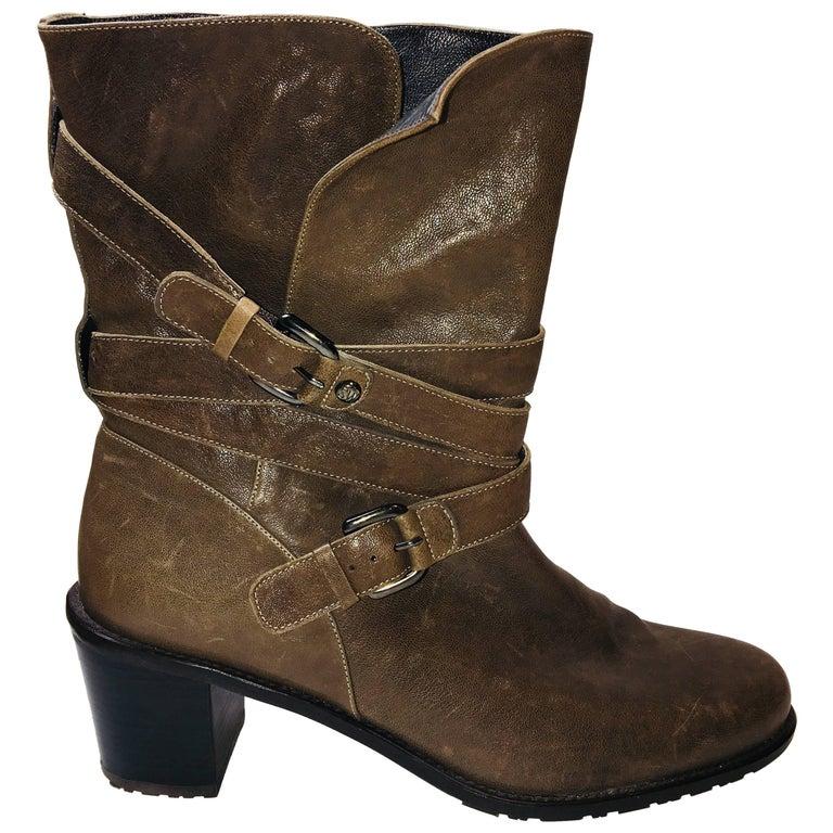 Stuart Weitzman Mid Calf Boots