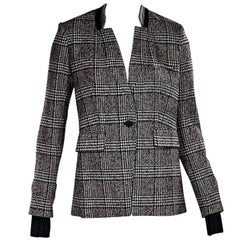 Multicolor Veronica Beard Glen Plaid Blazer