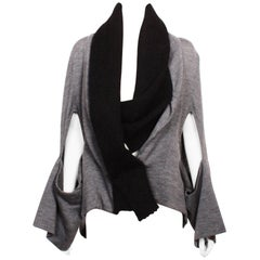 Yohji Yamamoto Deconstructed Wool Jacket.
