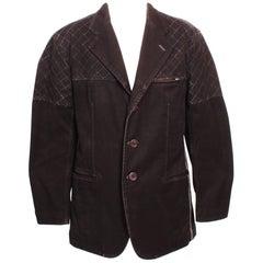 Issey Miyake Charcoal Grey Heavy Cotton Jacket