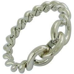 Hermès Vintage Silver Torsades Bracelet