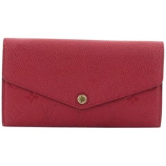 Louis Vuitton Sarah Wallet NM Monogram Empreinte Leather