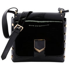 Jimmy Choo Lockett XB Crossbody Bag Patent Petite