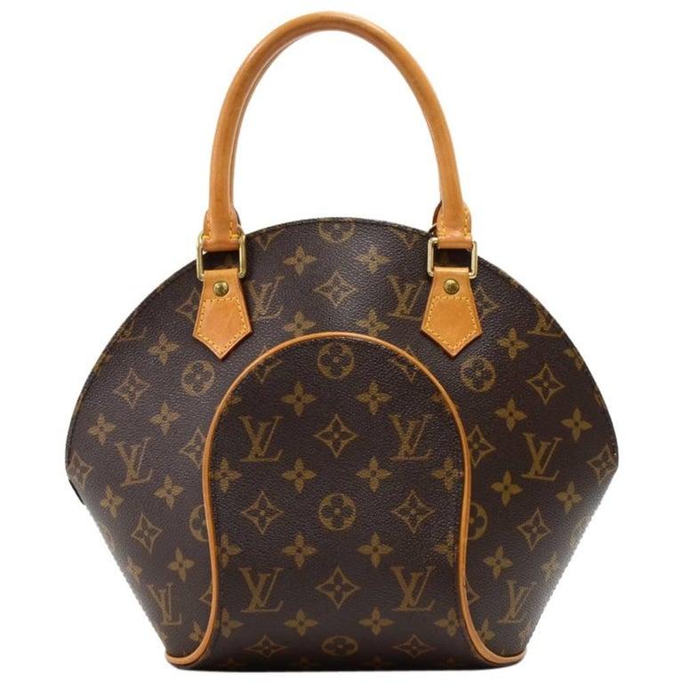 Vintage Louis Vuitton Ellipse PM Monogram Canvas Hand Bag ...