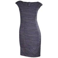 Multicolor Valentino Tweed Sheath Dress
