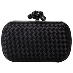 Bottega Veneta Silk Knot Clutch