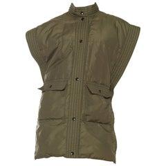 Bill Blass Military Style Puffer Vest