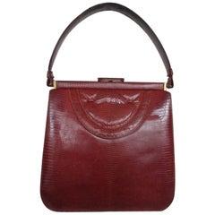 1940s vintage lizard bag