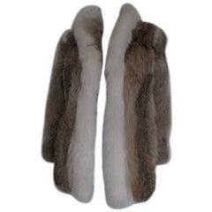 Anderson's Furs Vintage coyote fur coat