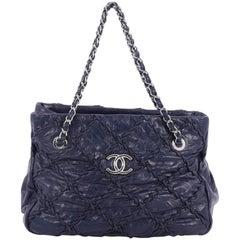 Chanel Ultra Stitch Chain Tote Leather