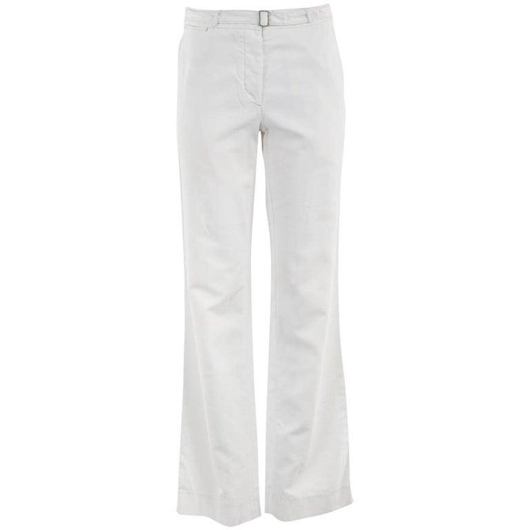 1990's Maison Martin Margiela White Cotton Pants