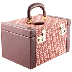1970s Dior Bordeaux Vanity Case Bag
