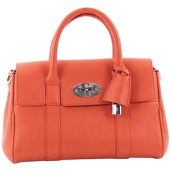Mulberry Bayswater Convertible Satchel Leather Small