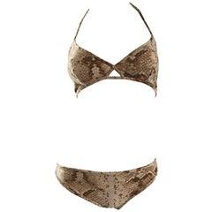 Brown Swimwear
