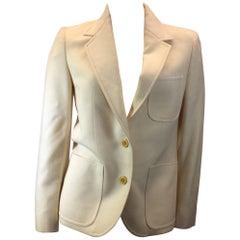 Celine Winter White Blazer