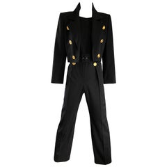 Black Suits, Outfits and Ensembles