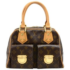 Louis Vuitton Manhattan PM Monogram Canvas Hand Bag