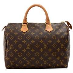 Louis Vuitton Speedy 30 Monogram Canvas City Hand Bag