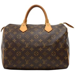 Louis Vuitton Speedy 30 Monogram Canvas City Hand Bag