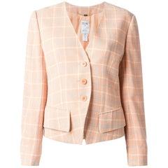 Céline Pink Wool Vintage Jacket, 1990s