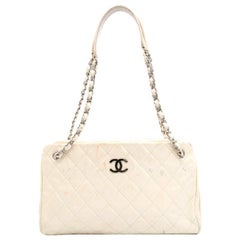 Chanel Cream Quilted Bag