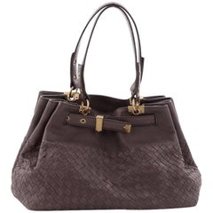 Bottega Veneta Belted Shoulder Bag Intrecciato Nappa Small