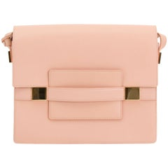 Delvaux Madame GM Rose Polo Shoulder Bag