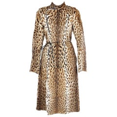 Museum Piece - Magnificent Gucci by Tom For Belted Fur Coat Fall 1999