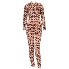 Alaia Iconic Fall/Winter 1991-1992 Collection Leopard Set