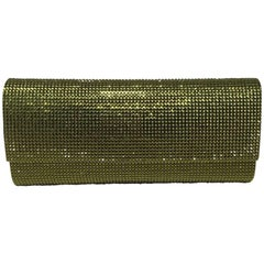 Judith Leiber Green Crystal Evening Bag Clutch