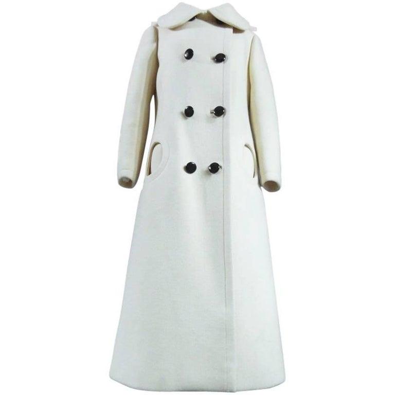 Pierre Cardin Couture woollen Coat