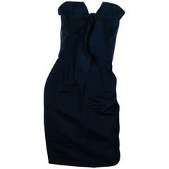 Oscar de la Renta Strapless Dress