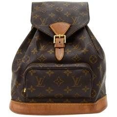 Vintage Louis Vuitton Moyen Montsouris MM Monogram Canvas Backpack Bag