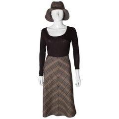 Biba Vintage Skirt and Hat