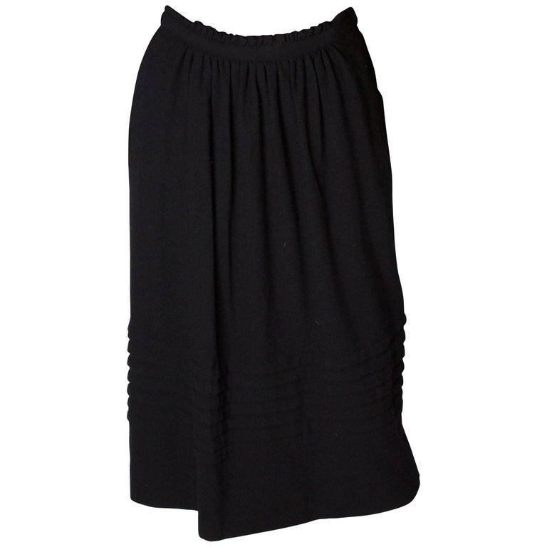 Christian Dior Vintage Wool Skirt