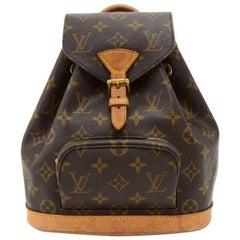 Louis Vuitton Mini Montsouris Monogram Canvas Backpack Bag